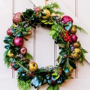 kerstdecoratie kerstkrans