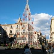 kerstdecoratie winter catania